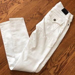 White true religion skinny jeans size 25